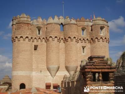 Coca - Ruta de castillos - Castillos Valladolid - Castillos Segovia - Castillo Coca; siete picos; ce